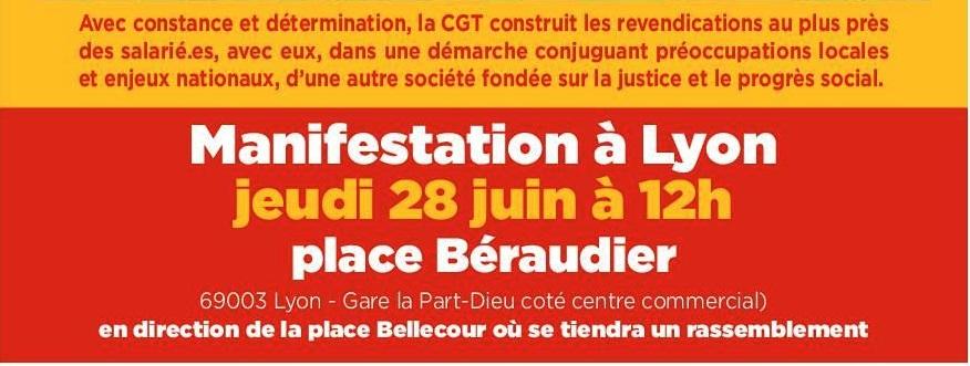 28 06 18 Manifestation A Lyon